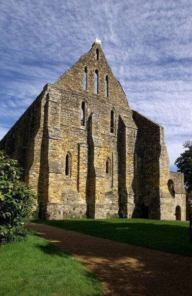 BATTLE ABBEY, East Sussex. The south end of the Dormitory Range