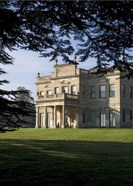 BRODSWORTH HALL, South Yorkshire. Exterior view of the East Front