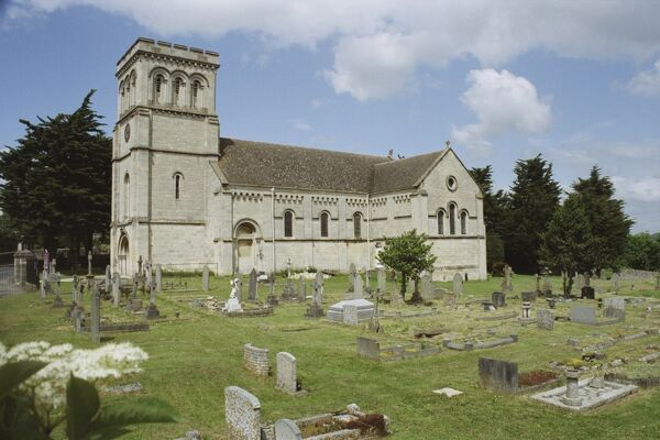 Victorian Parish Church, Stroud, Gloucestershire. IoE 132786