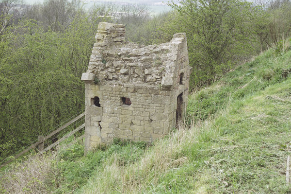 One of four conduit houses along the escarpment which brought water to Bolsover Castle. IoE 79237