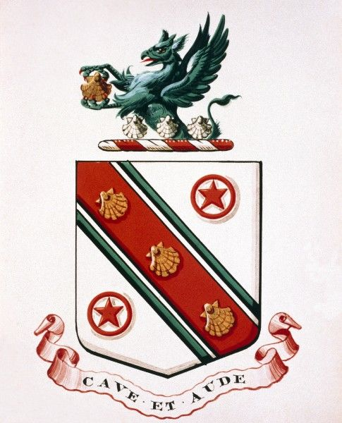 the darwin family coat of arms k970213