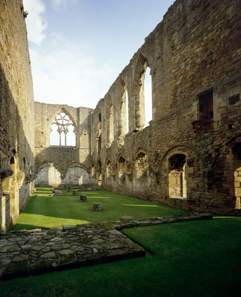 EASBY ABBEY, North Yorkshire. Frater looking East