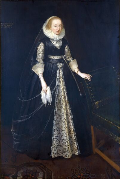 KENWOOD HOUSE, SUFFOLK COLLECTION, London. Elizabeth Howard (1586-1658), Countess of Banbury, attributed to Daniel MYTENS (c.1590-1648)