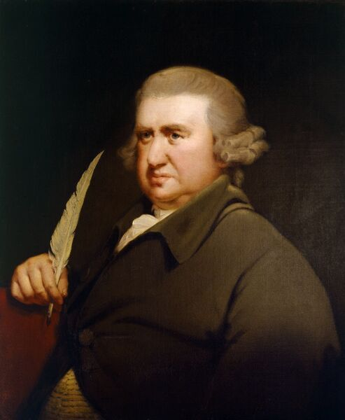 "DOWN HOUSE, Kent. "" Erasmus Darwin "", grandfather of Charles Darwin by WRIGHT OF DERBY, Joseph (1734-97)"