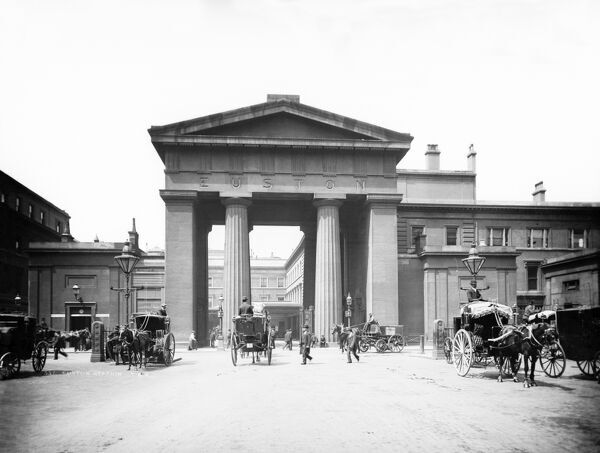 euston arch london cc97 01007