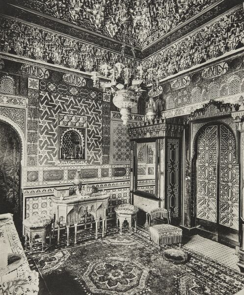 Dressing room, Franks Hall, Horton Kirby, Kent, 1894