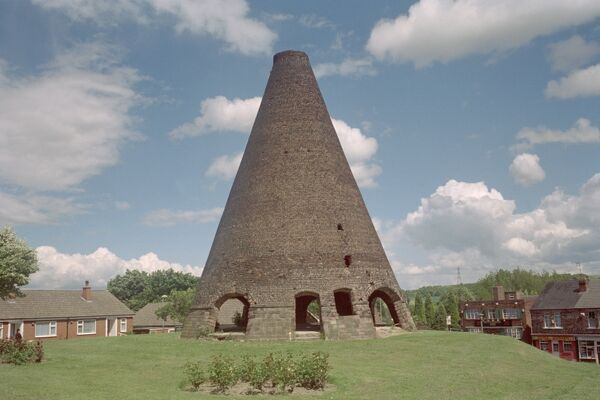 The cone is the oldest surviving structure of its type in Western Europe and one of only 4 to remain in the UK. Catcliffe, South Yorkshire. IoE 335632