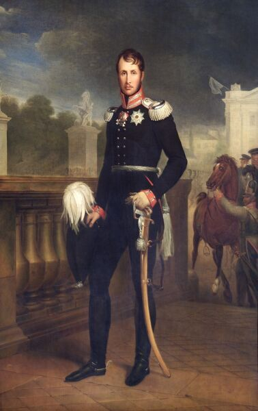 "APSLEY HOUSE, London. ""Frederick William III, King of Prussia"" 1818 by Wilhelm HERBIG (1787-1861) WM 1461-1948"