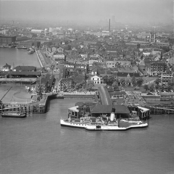 The Humber Ferry, Kingston-upon-Hull. June 1965. Aerofilms Collection