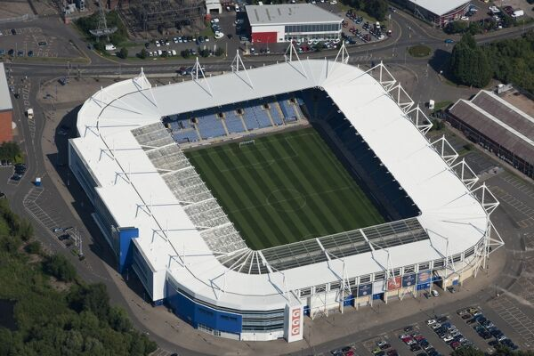 King Power Stadium, Leicester. Home of Leicester City Football Club photographed in September 2012