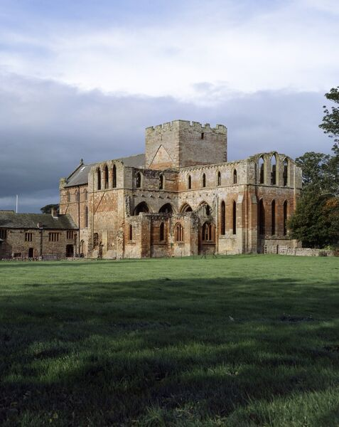 LANERCOST PRIORY, Cumbria. A view of the Priory Church from the south east