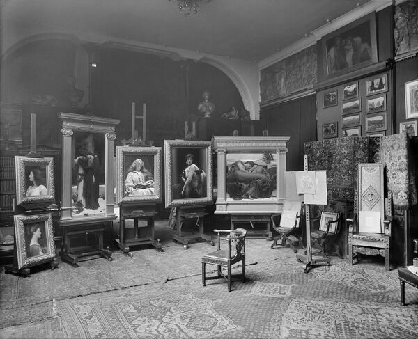 lord frederic leightons studio bl13090_a