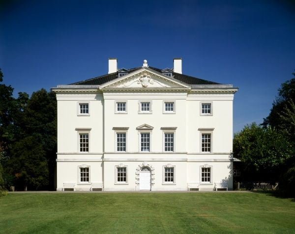 MARBLE HILL HOUSE, Twickenham, Richmond, Middlesex. View of the South front