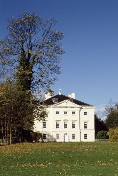 MARBLE HILL HOUSE, Richmond. South front exterior