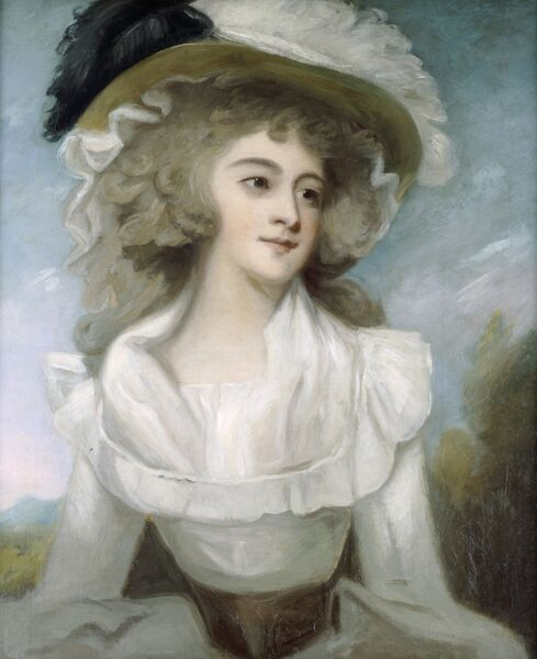 KENWOOD HOUSE, THE IVEAGH BEQUEST, London. 'Mrs Tickell'. After George ROMNEY (1734-1802). IBK 939
