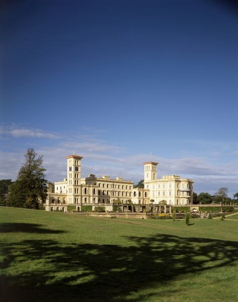OSBORNE HOUSE, Isle of Wight. View of the house from the east