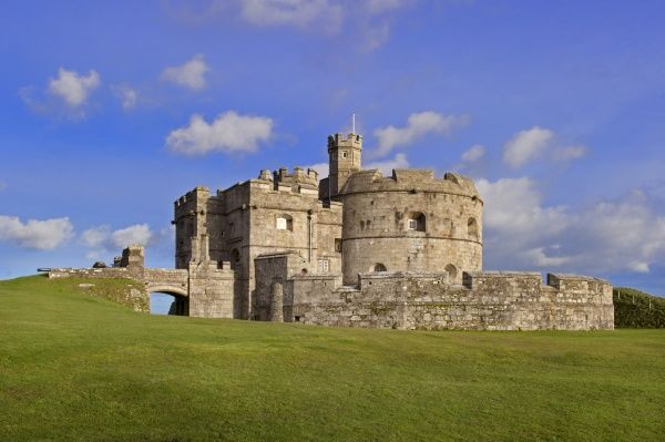 PENDENNIS CASTLE, Falmouth, Cornwall. General view