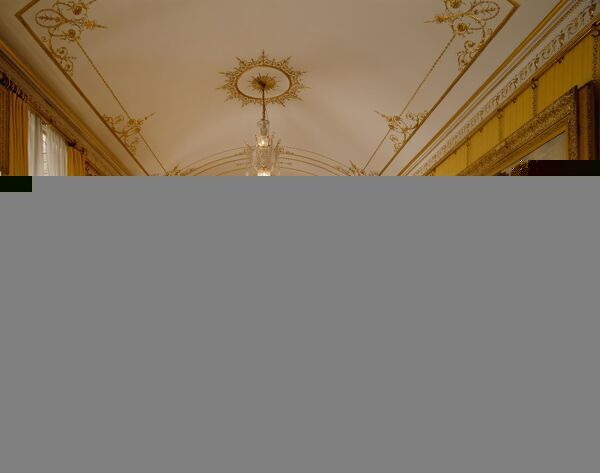 APSLEY HOUSE, London. Interior view of the Piccadilly Drawing Room