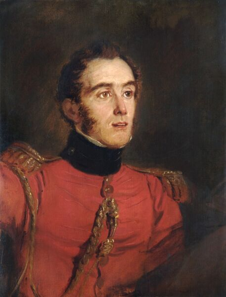 APSLEY HOUSE, London. Major General John Freemantle (1790-1864) sketched by Jan Willem PIENEMAN in 1821 (WM 1483-1948)
