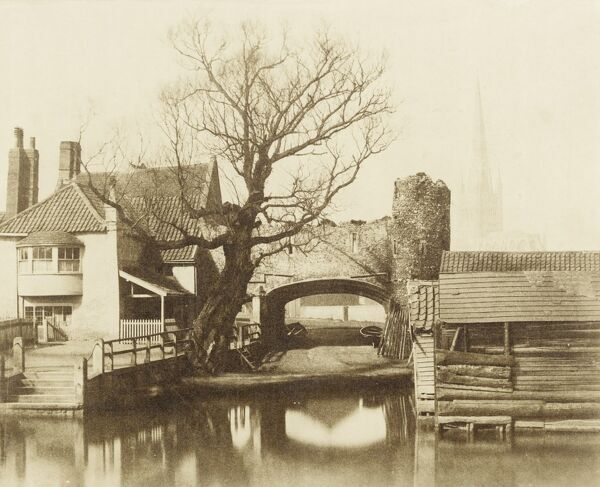 Pull'€™s Ferry, Norwich, Norfolk, 1854