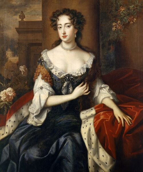 "KENWOOD HOUSE, SUFFOLK COLLECTION, London. ""Queen Mary II"" c.1685 by studio of William WISSING (1655-87)"