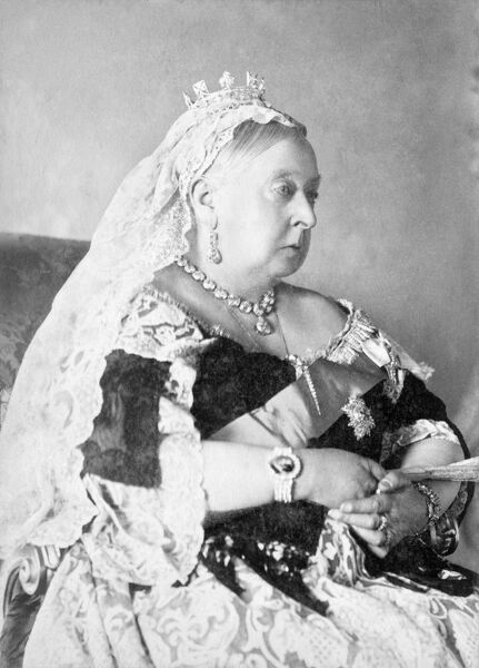 OSBORNE HOUSE, Isle of Wight. The Ryde Album. Queen Victoria in full state robes
