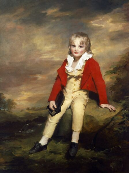 "KENWOOD HOUSE, THE IVEAGH BEQUEST, London. ""Sir George Sinclair as a Boy"" by Sir Henry Raeburn (1756-1823)"