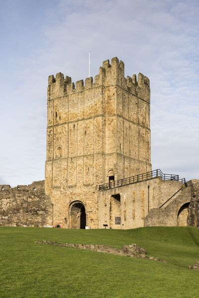 RICHMOND CASTLE, North Yorkshire. The Keep from the South East