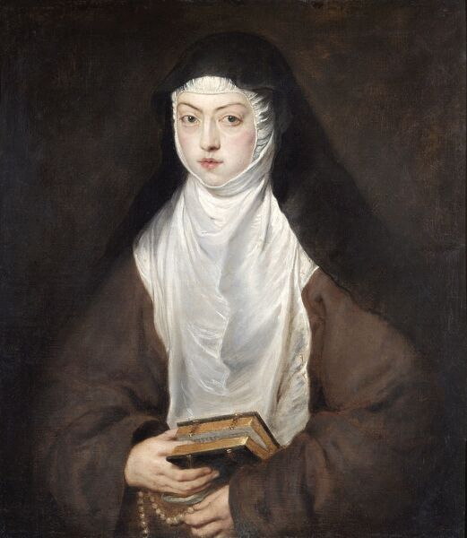 "APSLEY HOUSE ""Ana Dorotea, a Nun at the Convent of the Descalzas Reales"" 1628 by Sir Peter Paul RUBENS (1577-1640)"