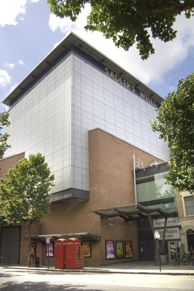 SADLERS WELLS THEATRE, London. General exterior view of the Sadler's Wells Threatre