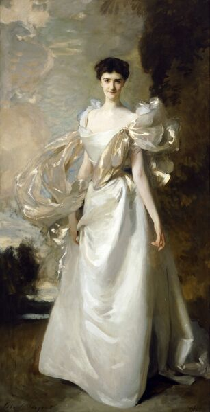 "KENWOOD HOUSE, London. "" Margaret Hyde, 19th Countess of Suffolk "" 1898 by John Singer SARGENT (1856-1925)"