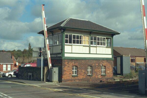 Parbold Cabin Signal Box on Lancashire and Yorkshire Railway. IoE 357858