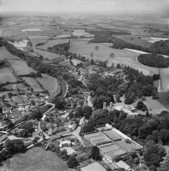 St Germans, Cornwall. Photographed in June 1964. Aerofilms Collection