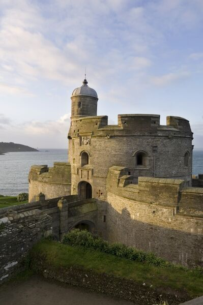 ST MAWES CASTLE, Cornwall. Exterior view
