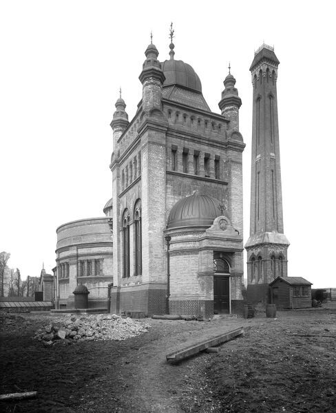 STREATHAM HILL PUMPING STATION. Photographed by Bedford Lemere in March 1895