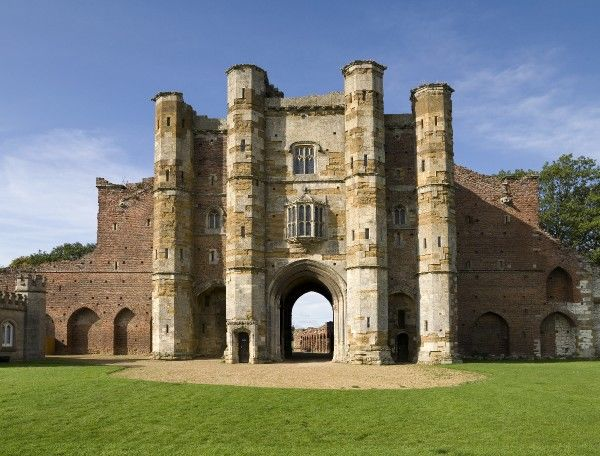 THORNTON ABBEY, North Lincolnshire. View of the Gatehouse taken from the east