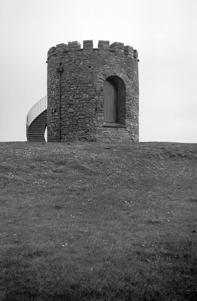 UPHILL WINDMILL, Uphill, Weston-super-Mare, Somerset. From a fire insurance policy of 1789 we know that this tower was built as a windmill in 1729. By 1829 only the walls remained and in 1863 it was used as a beacon. It later became an observation point