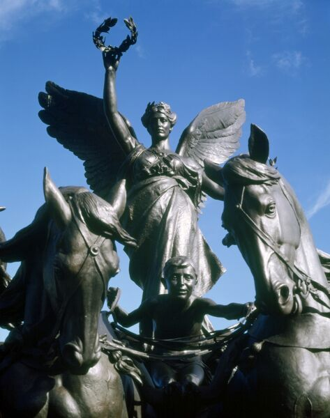 wellington arch quadriga j010144