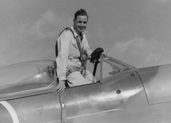 Alex Henshaw began his flying career winning air races. In 1939 he flew solo from England to South Africa and back, breaking several records as he did so. War prevented any more record flights so he became a test pilot