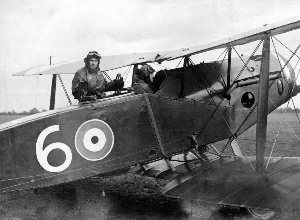 Bristol Fighter of the W/T Establishment, RAF Biggin Hill 1918