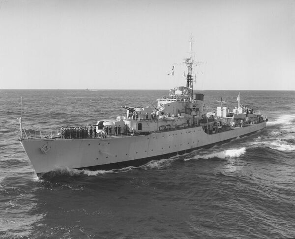 Battle Class destroyer HMS Solebay