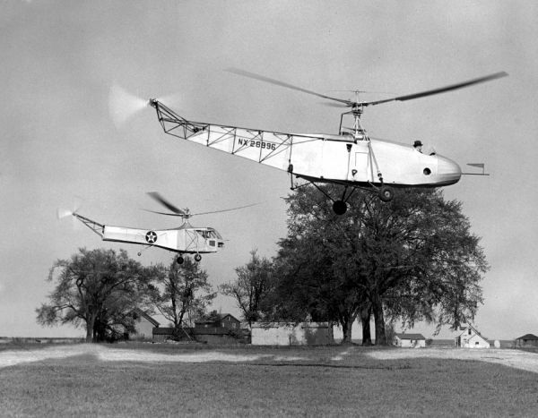Igor Sikorsky was a pioneer of the helicopter. The first successful Sikorsky helicopter after modification and the XR-4 which entered service with American and British air forces