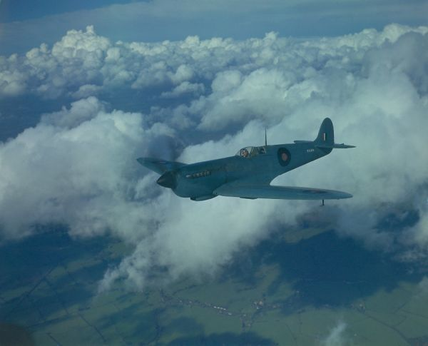 Supermarine Spitfire XI, a photographic reconnaissance version, 17 October 1943