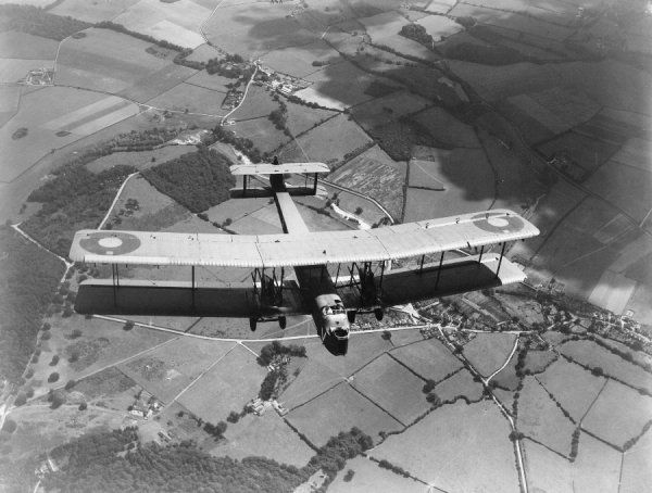 Vickers Virginia X of 58 Squadron RAF, Worthy Down, 1934