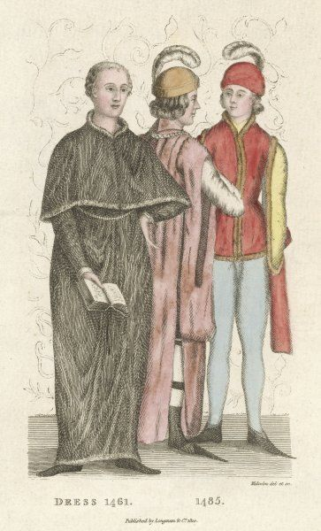 Three men of 15th century England