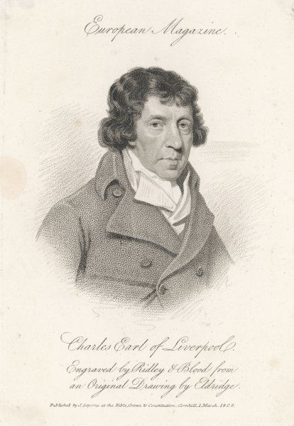 1ST EARL OF LIVERPOOL, Charles Jenkinson English politician