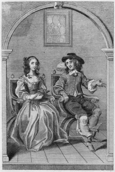 JOHN EGERTON, second earl of BRIDGEWATER, with his countess. Date: 1622 - 1686