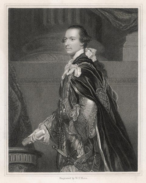 CHARLES WENTWORTH, second marquis of Rockingham statesman