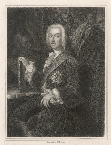 3RD EARL OF BURLINGTON - Richard Boyle (also 4th Earl of Cork) - patron of the arts