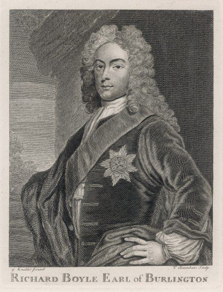 Richard Boyle, third earl of BURLINGTON patron of the arts